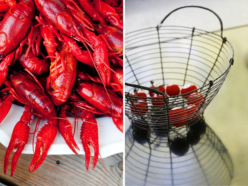 Crayfish tomatoes ©Anna Lefvert